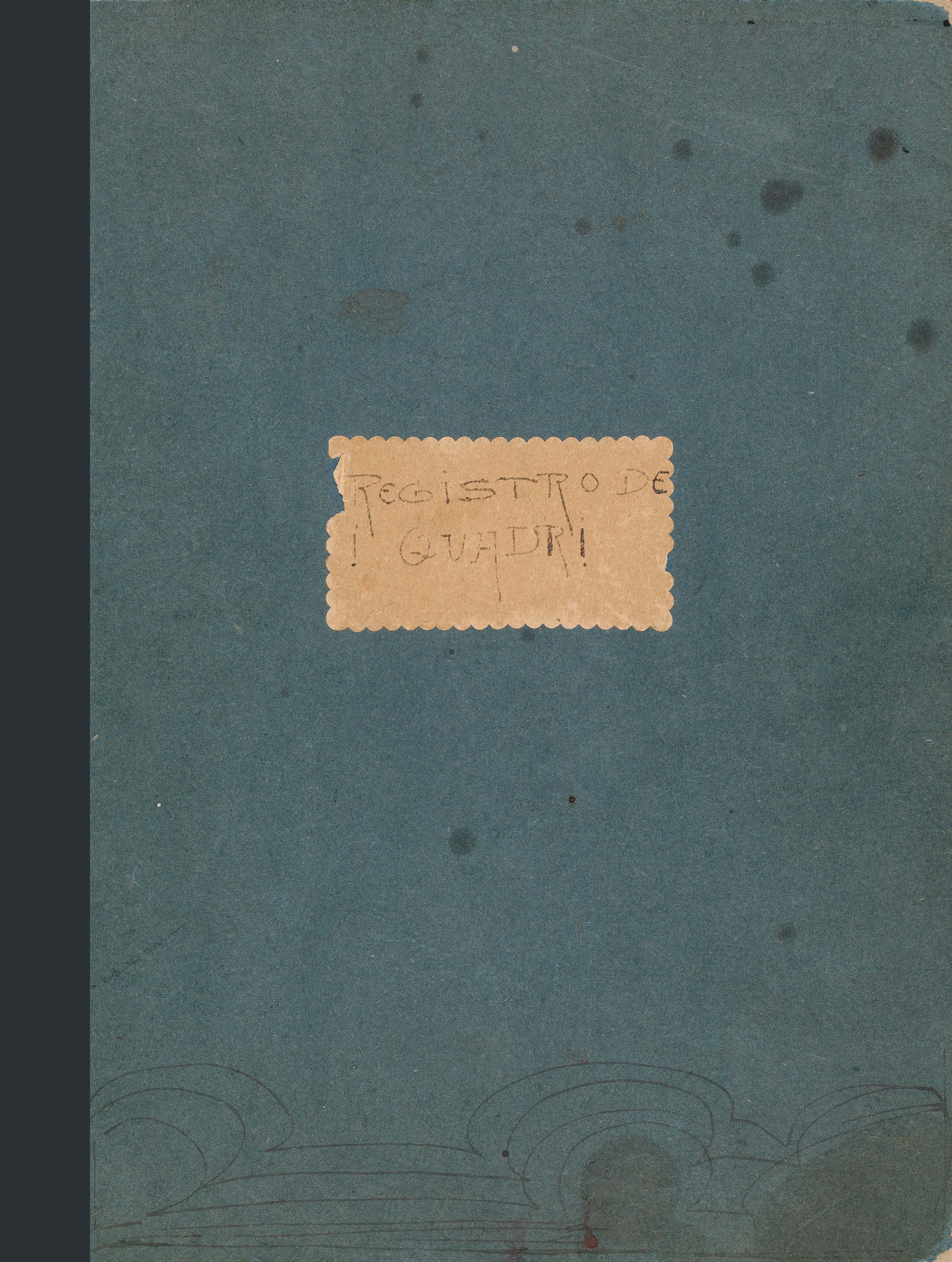 Giovanni Giacometti, Registro dei quadri, quaderno 1 (1894-1909) Faksimile 20150550