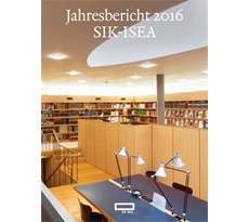 Jahresbericht 2016 SIK-ISEA 20170490