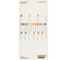 Art contemporain suisse. Collection Banque du Gothard Art contemporain suisse
