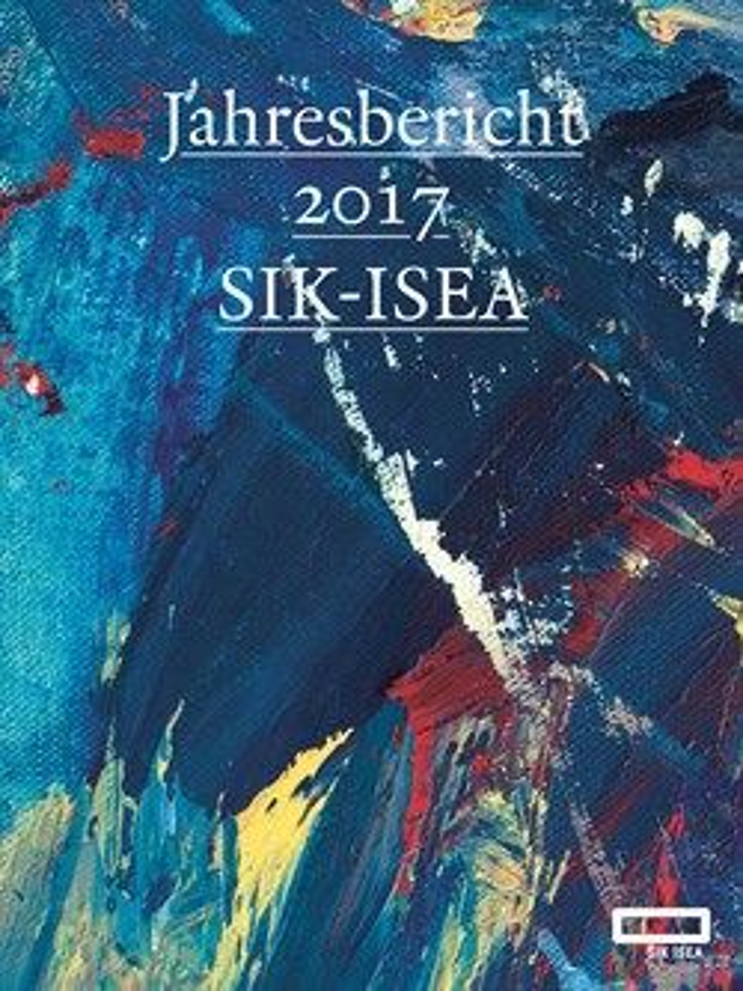 Jahresbericht 2017 SIK-ISEA / Rapport annuel 2017 SIK-ISEA 20180250