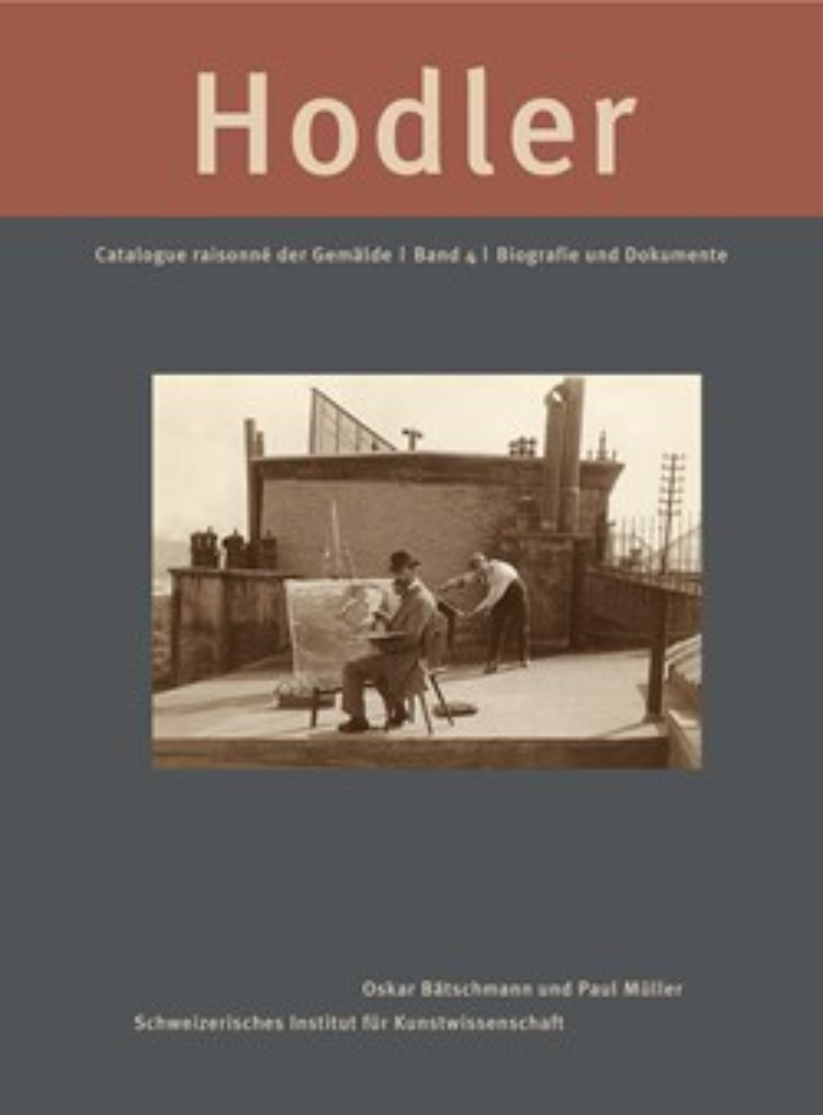 Ferdinand Hodler. Catalogue raisonné der Gemälde: Biografie und Dokumente 20180190