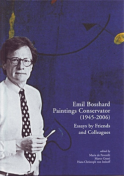 Emil Bosshard, Paintings Conservator (1945–2006)