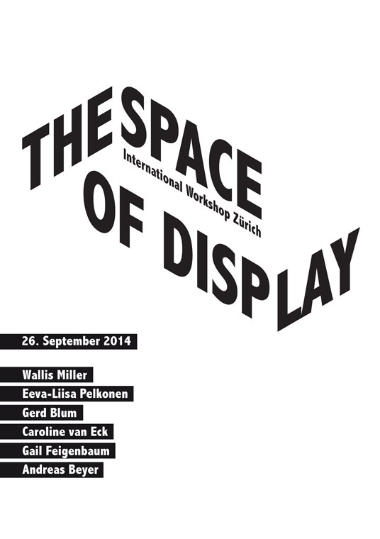 The Space of Display